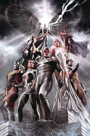 X-Men No. 1: Cyclops, Rogue, Frost, Emma, Colossus, Wolverine, Storm, Magneto, Archangel