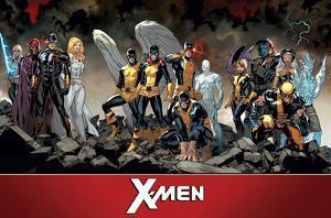 X-Men- Past Present & Future Teams