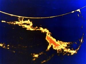 X-Ray Image of a Solar Flare
