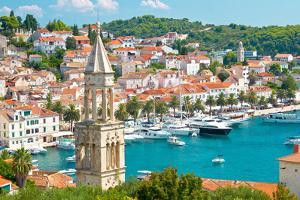 Amazing Town of Hvar Harbor by xbrchx