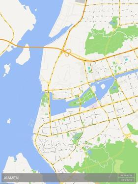 Xiamen, China Map
