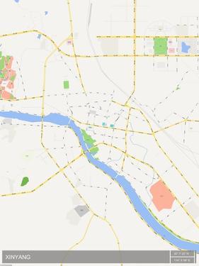 Xinyang, China Map