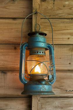 Rusty Lantern Hanging In A Shed by xlucie-langx