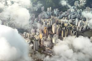 Aerial Image of Buildings in Hong Kong by xPacifica