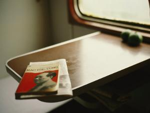 English Version of a Biography of Mao Sits on a Table in a Train by xPacifica