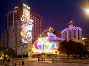 Famous Casino Lisboa, Built in the 1960S by xPacifica