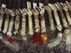Kung Fu Sword Handles and Tassels Used at the Ta Gou Academy by xPacifica