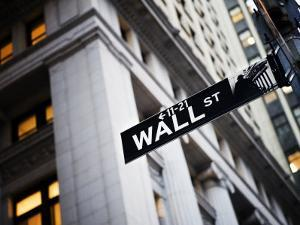 Wall Street Street Sign Near the New York Stock Exchange by xPacifica