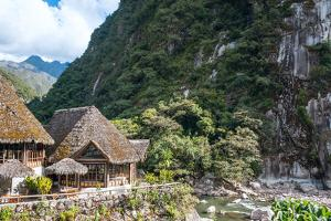 Aguas Calientes, the Town and Railway Station at the Foot of the Sacred Machu Picchu Mountain, Peru by xura