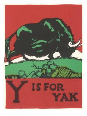 Y is for Yak