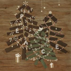Scandinavian Christmas Peace by Yachal Design