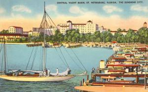 Yacht Basin, St. Petersburg, Florida