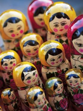 Babushka Dolls, Riga, Latvia, Baltic States, Europe by Yadid Levy