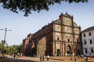 Basilica of Bom Jesus, UNESCO World Heritage Site, Old Goa, Goa, India, Asia by Yadid Levy