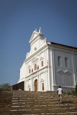 Capello Do Monte (Mount Mary Church), Old Goa, UNESCO World Heritage Site, Goa, India, Asia by Yadid Levy