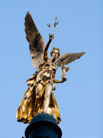Column of the Angel of Peace (Friedensengel), Munich, Bavaria, Germany