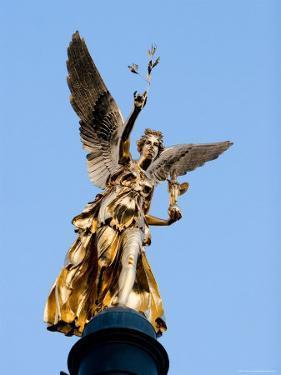 Column of the Angel of Peace (Friedensengel), Munich, Bavaria, Germany by Yadid Levy