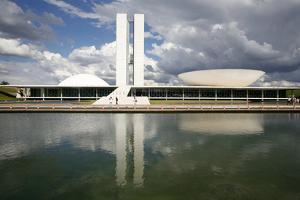 Congresso Nacional (Nat'l Congress) Designed by Oscar Niemeyer, Brasilia, UNESCO Site, Brazil by Yadid Levy