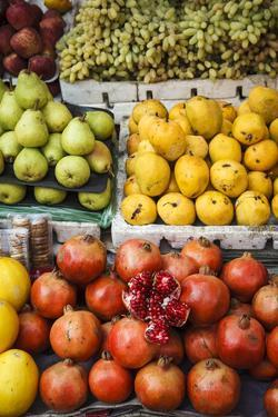 Detail of Fruits at Mapusa Market, Goa, India, Asia by Yadid Levy
