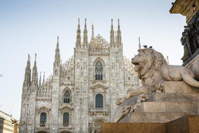 Duomo (Cathedral), Milan, Lombardy, Italy, Europe by Yadid Levy