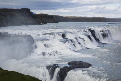 Gullfoss Waterfall, Golden Circle, Iceland, Polar Regions by Yadid Levy