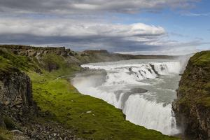 Gullfoss Waterfall, Golden Circle, Iceland, Polar Regions by Yadid Levy