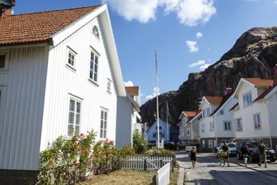 Houses in Fjallbacka, Bohuslan Region, West Coast, Sweden, Scandinavia, Europe by Yadid Levy