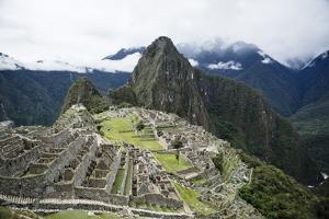 Machu Picchu, UNESCO World Heritage Site, Peru, South America by Yadid Levy