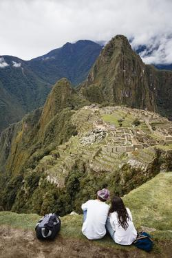 Machu Picchu, UNESCO World Heritage Site, Peru, South America by Yadid Levy