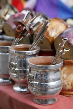 Mate Cups for Sale at the Market in Purmamarca by Yadid Levy