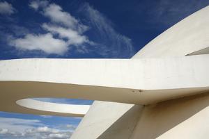 Museo Nacional (Nat'l Museum) Designed by Oscar Niemeyer, Brasilia, UNESCO Site, Brazil by Yadid Levy