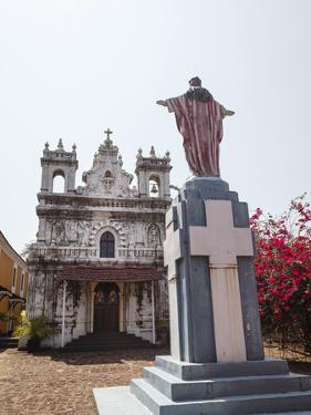 Old Portuguese Church in Grounds of Fort Tiracol, Goa, India, Asia by Yadid Levy