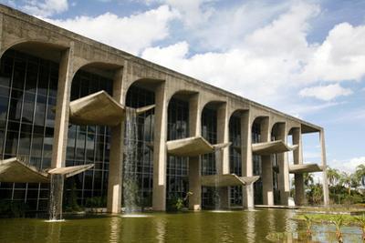 Palacio da Justica, Brasilia, UNESCO World Heritage Site, Brazil, South America by Yadid Levy