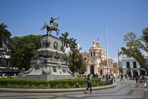 Plaza San Martin, Cordoba City, Cordoba Province, Argentina, South America, South America by Yadid Levy
