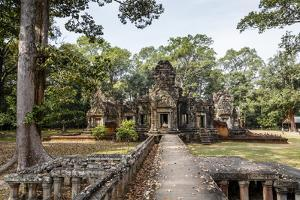 Ruins of the Chau Say Tevoda Temple, Angkor, UNESCO World Heritage Site, Cambodia, Indochina by Yadid Levy