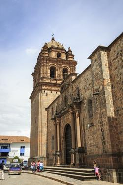 Santo Domingo Church at the Qorikancha, Cuzco, UNESCO World Heritage Site, Peru, South America by Yadid Levy