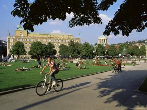 Schlossplatz (Palace Square), Stuttgart, Baden Wurttemberg, Germany by Yadid Levy