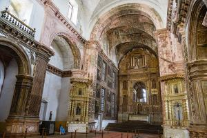 St. Francis of Assisi Church, UNESCO World Heritage Site, Old Goa, Goa, India, Asia by Yadid Levy