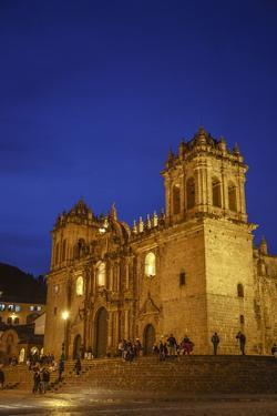 The Cathedral in Plaza De Armas, Cuzco, UNESCO World Heritage Site, Peru, South America by Yadid Levy