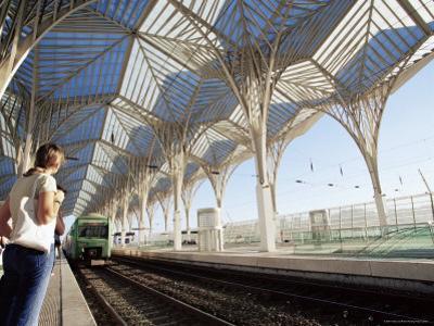 The Modern Oriente Railway Station, Designed by Santiago Calatrava, Lisbon, Portugal by Yadid Levy