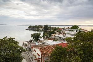 View over Punta Gorda and the Cienfuegos Bay, Cienfuegos, Cuba, West Indies, Caribbean by Yadid Levy