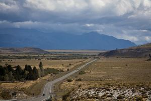 View over Ruta 40, Patagonia, Argentina, South America by Yadid Levy