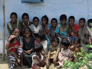 Village Children, Sri Lanka by Yadid Levy