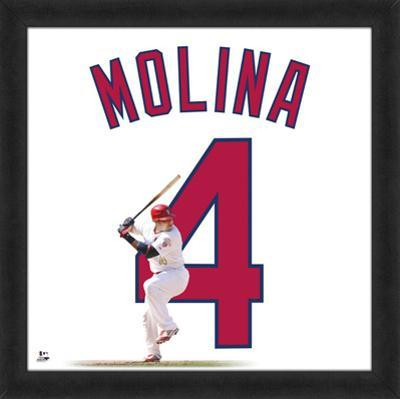 Yadier Molina, Cardinals representation of player's jersey