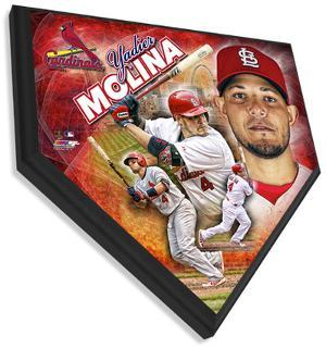Yadier Molina Home Plate Plaque