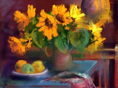 Sunflowers by yakymenko