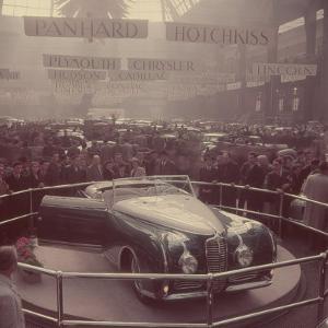 Automobile Show, Paris by Yale Joel