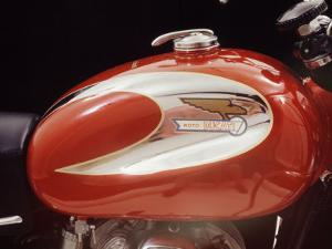 Close-up of a Ducati Gas Tank by Yale Joel