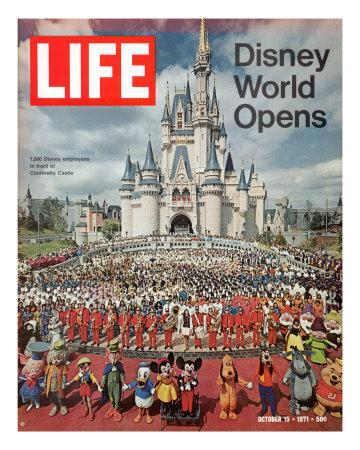 Disney World Opens, October 15, 1971