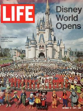 Disney World Opens, October 15, 1971 by Yale Joel